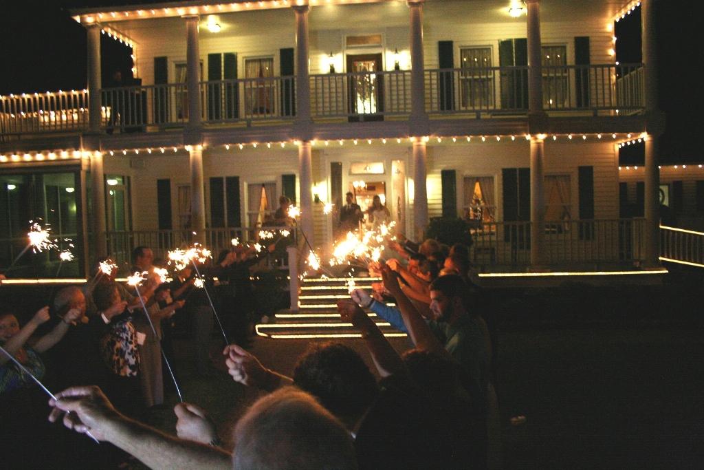 exit of House Plantation - wedding venue photos