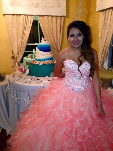 Quinceañera celebration in Sept
