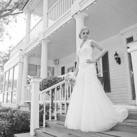 Bridal photo ops at House Plantation