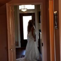 photo ops outside the brides quarters - wedding venue photos