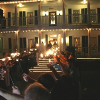 exit of House Plantation - wedding venue photos