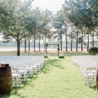 Semi-rustic-outdoor-wedding