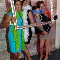 fun pics with guests at House Plantation