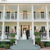 house plantation wedding party pics - wedding venue photos