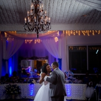 wedding dance at House Plantation