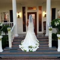 wedding dress and flowers at house plantation.JPG