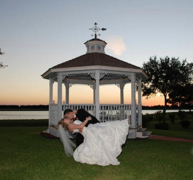 dip by the lake - wedding venue photos