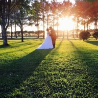Sunset photo ops at House Plantation