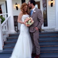 bride and groom on steps at House Plantation.JPG