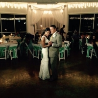 brides dance indoor wedding - wedding venue photos