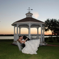 dip by the lake - wedding venue photos
