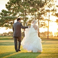 walking on the grounds - wedding venue photos
