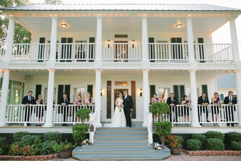 house plantation wedding party pics - wedding venue photos