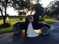 photo ops with antique cars at House Plantation