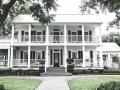Victorian mansion in september