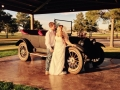 antique car and photo ops at House Plantation