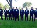 cool groomsmen at a summer Houston wedding venue