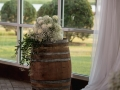 wedding decor at House Plantation