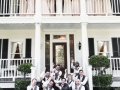 wedding party pics in sept at a Houston mansion