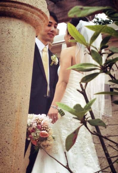 wedding ceremony Flowers - Petals by Design