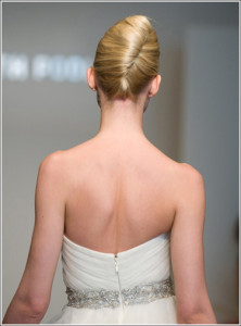 french hair pleat