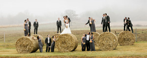 proir-lake-wedding-party-on-hay-bales-farm-fall-colors-fog
