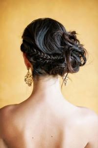 side hair bun