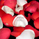 personalized rose petals