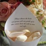 rose petals for your guests