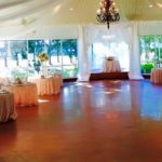 elegant reception tables houston tx
