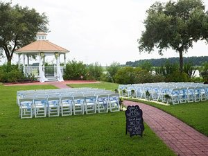 breath taking outdoor wedding