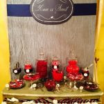 candy bar wedding venue decor sweet treats houston