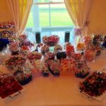 Sweet treat candy wedding decor house plantation