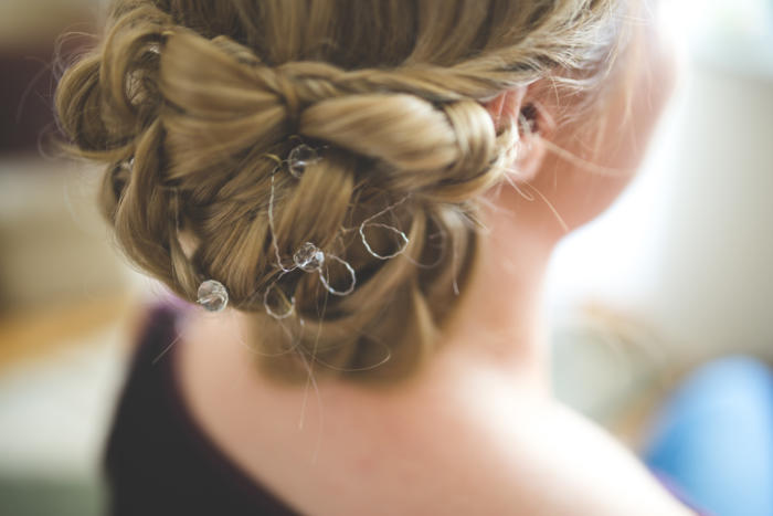 hairstyle dove hair wedding bride