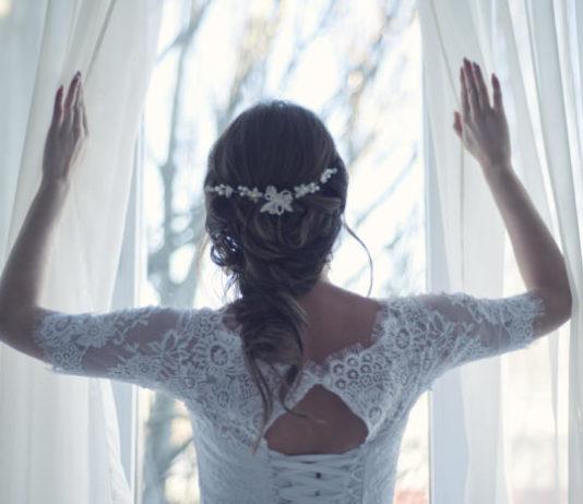 perfect glow on wedding day dove