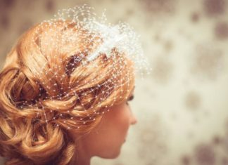 wedding hair for bride