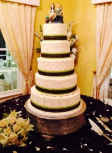 5 Tier Beautiful Cake House Estate Houston