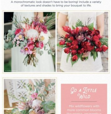 Protea flower Bouquets