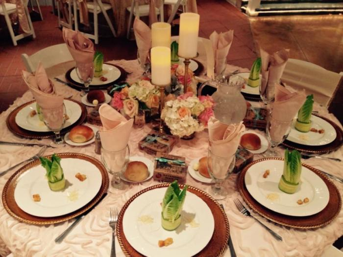 Wedding Catering Service at House Estate Houston