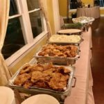 wedding buffet food in Houston