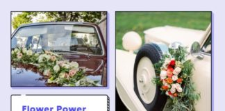 wedding car decor ideas