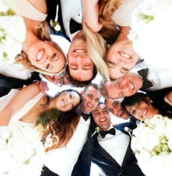 Bridal Wedding Party House Estate