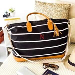Striped Canvas Bag House Estate