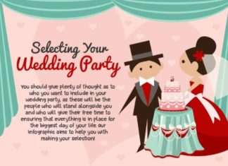 selecting wedding party you'll love