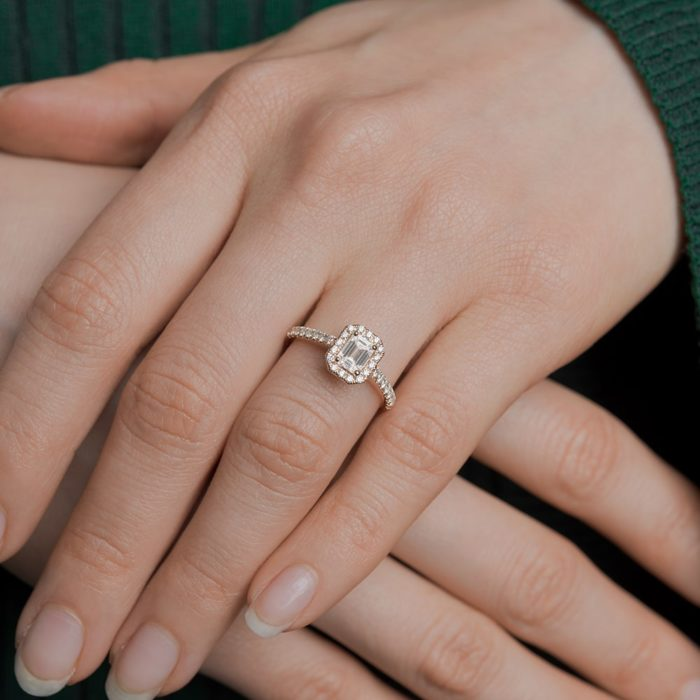 Emerald-Cut Engagement Rings