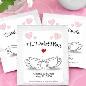 personalized tea bags for gift item