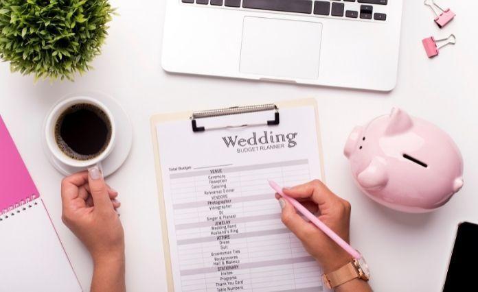 finalize wedding budget